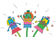 Оперативно нарисую юмористические иллюстрации для рекламной статьи 120 - kwork.ru