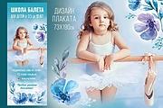 Разработаю дизайн рекламного постера, афиши, плаката 94 - kwork.ru