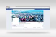 Создам стильную обложку для facebook 35 - kwork.ru