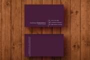 3 варианта дизайна визитки 166 - kwork.ru