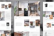 WEB дизайн страницы сайта 6 - kwork.ru