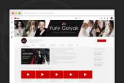 Сделаю оформление канала YouTube 113 - kwork.ru