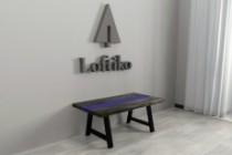 Визуализация мебели, предметная, в интерьере 157 - kwork.ru