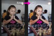 Для проф. фотографов - конвертация фото из RAW в JPG, 100 штук 33 - kwork.ru
