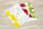 Дизайн двухсторонней листовки с исходниками 94 - kwork.ru