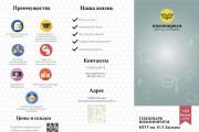 Дизайн евро буклета 8 - kwork.ru