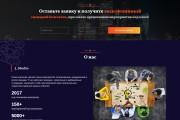 Сайт под ключ. Landing Page. Backend 424 - kwork.ru