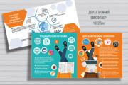 Разработаю дизайн флаера, листовки 99 - kwork.ru