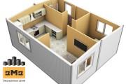 3D Моделирование навеса + визуализация 49 - kwork.ru