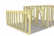 Сделаю 3D проект каркасного дома 25 - kwork.ru