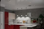 Дизайн-проект кухни. 3 варианта 55 - kwork.ru