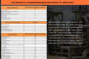 Стильный дизайн презентации 742 - kwork.ru