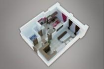 Сделаю 3д визуализацию плана для дома, квартиры 36 - kwork.ru