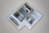 Сделаю 3д визуализацию плана для дома, квартиры 35 - kwork.ru