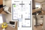 Планировка квартиры или жилого дома, перепланировка и визуализация 178 - kwork.ru