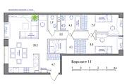 Планировка квартиры или жилого дома, перепланировка и визуализация 171 - kwork.ru