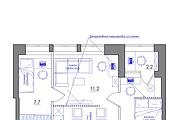 Планировка квартиры или жилого дома, перепланировка и визуализация 172 - kwork.ru