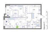 Планировка квартиры или жилого дома, перепланировка и визуализация 166 - kwork.ru