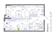 Планировка квартиры или жилого дома, перепланировка и визуализация 167 - kwork.ru