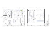 Планировка квартиры или жилого дома, перепланировка и визуализация 165 - kwork.ru