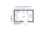 Планировка квартиры или жилого дома, перепланировка и визуализация 163 - kwork.ru
