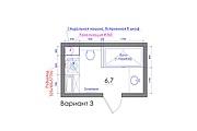 Планировка квартиры или жилого дома, перепланировка и визуализация 162 - kwork.ru