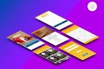 Дизайн одного экрана приложения Android или iOS 16 - kwork.ru