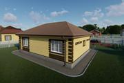 Фотореалистичная 3D визуализация экстерьера Вашего дома 371 - kwork.ru