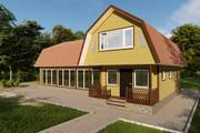 Фотореалистичная 3D визуализация экстерьера Вашего дома 354 - kwork.ru