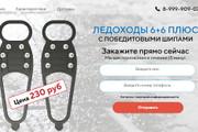 Качественная копия лендинга с установкой панели редактора 188 - kwork.ru