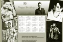 Создам два эксклюзивных календаря на год 3 - kwork.ru