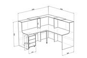 Визуализация мебели, предметная, в интерьере 120 - kwork.ru
