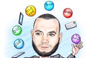 Нарисую быструю карикатуру или шарж по фото 33 - kwork.ru