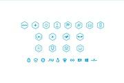 Создам 5 иконок в любом стиле, для лендинга, сайта или приложения 153 - kwork.ru