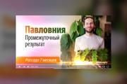 Грамотная обложка превью видеоролика, картинка для видео YouTube Ютуб 64 - kwork.ru
