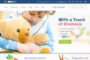 Многоцелевая медицинская красивая тема на WordPress 17 - kwork.ru