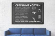 Разработаю дизайна постера, плаката, афиши 84 - kwork.ru