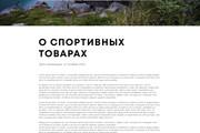Дизайн одного блока Вашего сайта в PSD 111 - kwork.ru