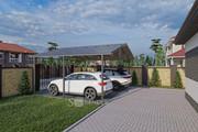 Фотореалистичная 3D визуализация экстерьера Вашего дома 249 - kwork.ru