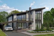 Фотореалистичная 3D визуализация экстерьера Вашего дома 224 - kwork.ru