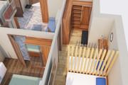 Создам планировку дома, квартиры с мебелью 85 - kwork.ru
