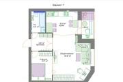 Планировочные решения. Планировка с мебелью и перепланировка 144 - kwork.ru