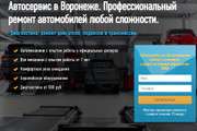 Скопировать Landing page, одностраничный сайт, посадочную страницу 115 - kwork.ru