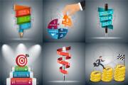 Набор инфографики. 13 тематик, 800 шаблонов, 2 пакета иконок 101 - kwork.ru