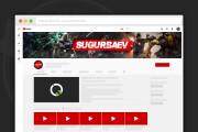 Сделаю оформление канала YouTube 167 - kwork.ru