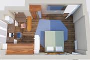 Создам планировку дома, квартиры с мебелью 106 - kwork.ru