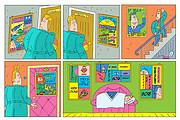 Нарисую стрип для газеты, журнала, блога, сайта или рекламы 39 - kwork.ru