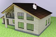 Экстерьеры. 3д модели домов 15 - kwork.ru