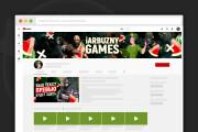 Сделаю оформление канала YouTube 165 - kwork.ru