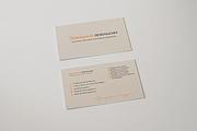 Эффектная визитка 171 - kwork.ru